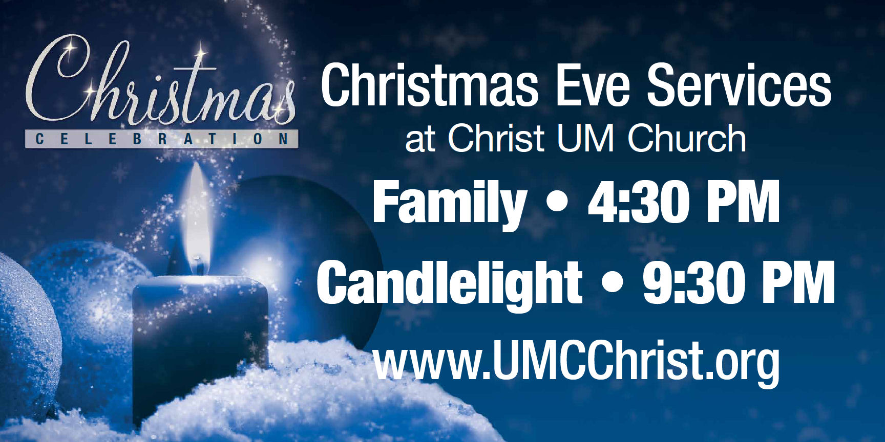 christmas eve service banner - photo #35