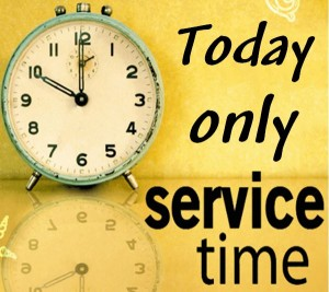 New Year's Eve Sunday Service (one service only today)
