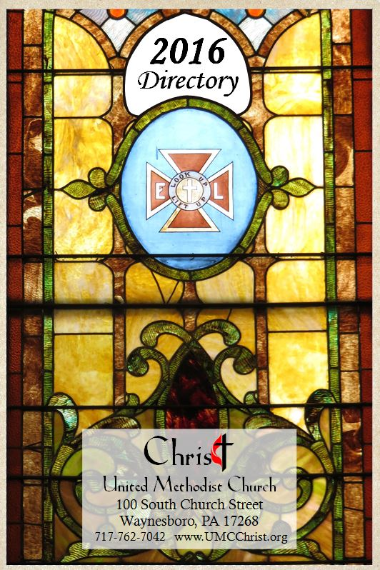 2016 directory cover christ united methodist church